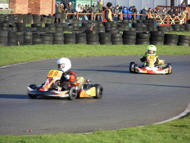 Indi Kart Racing leon barlow