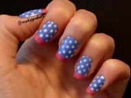sock-monkey-french-tips-spots-blue-nail-polish-4