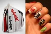 david-bowie-inspired-nail-polish-nails-chinese-symbols ...