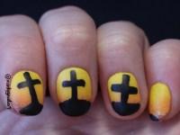 Happy Easter! Good Friday Nails | Monkey Nail Art