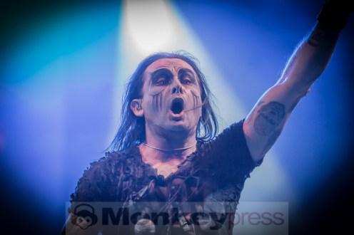 Devilment (GB) mit Dani Filth (Cradle Of Filth), © Danny Sotzn