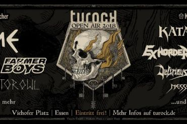 TUROCK OPEN AIR 2018 – 17. & 18. August in Essen