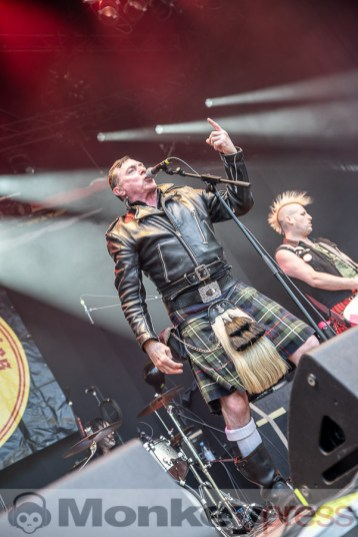 The Real McKenzies, © Cynthia Theisinger