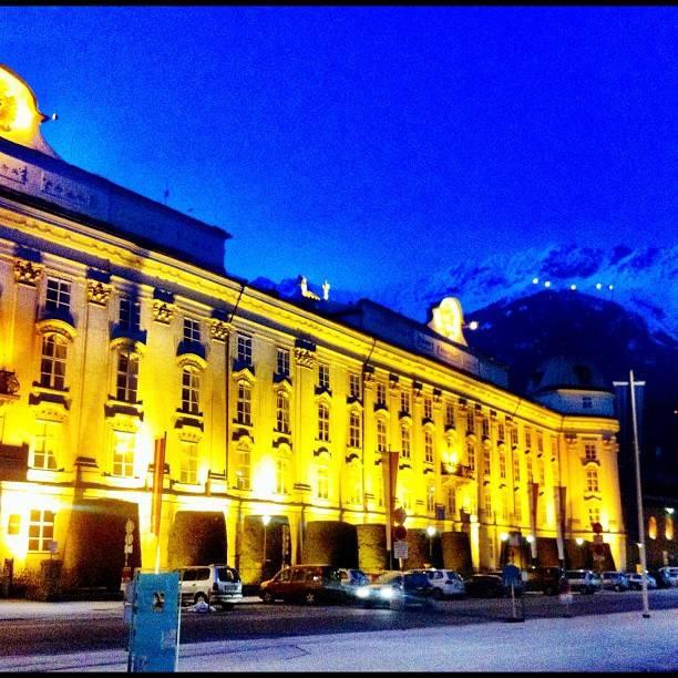 Romantic Austria castle in Innsbruck