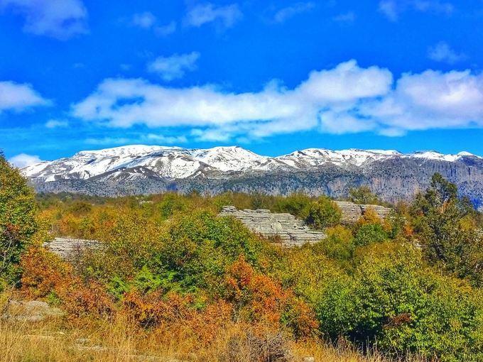 Adveture Travel - Pindo Mountain Range in Epirus, Greece
