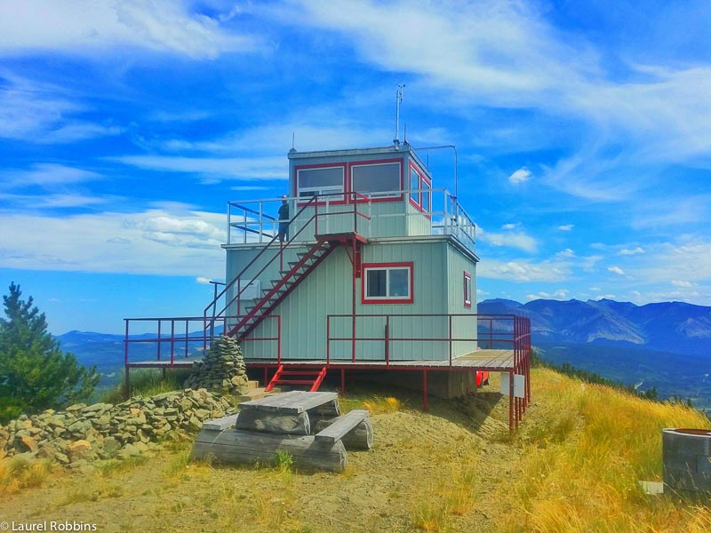 Carbondale Fire Lookout in Castle Crown Wilderness