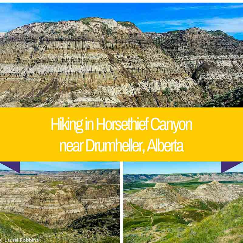 hiking in Horsethief Canyon