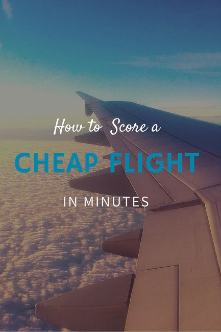 cheap flight tips: 9 travel tips that will save you money on airfare