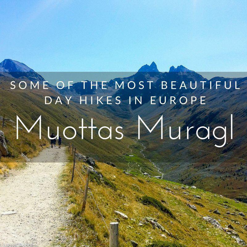 Muottas Muragl in the Engadin Mountains near St. Moritz Switzerland