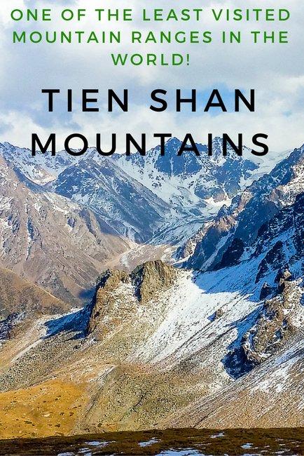 Tien shan mountains kazakhstan