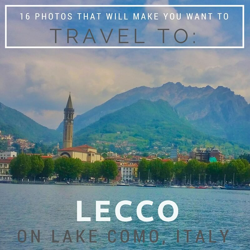 travel to Lecco, Italy on Lake Como