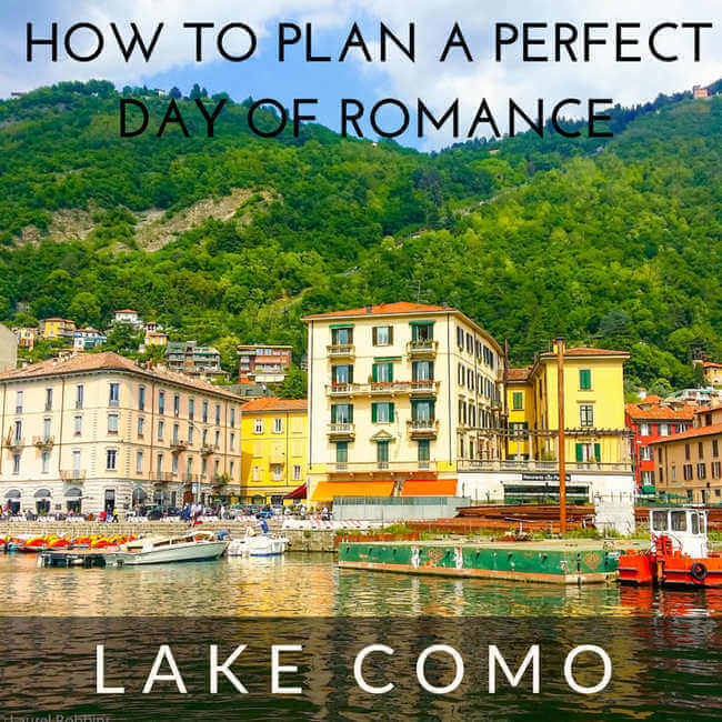 romance in Lake Como, Italy
