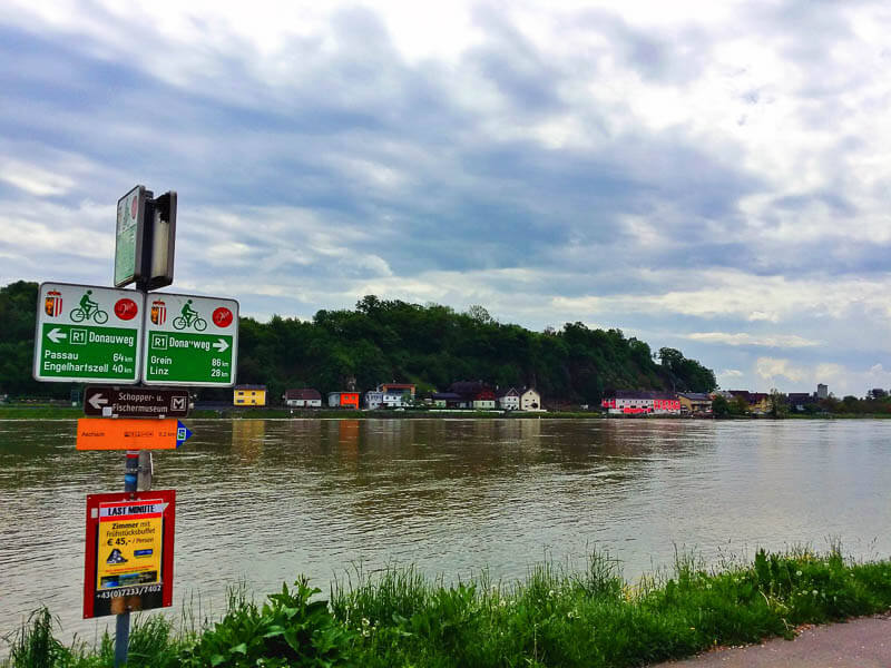 Danube River Cycle Route Passau to Vienna