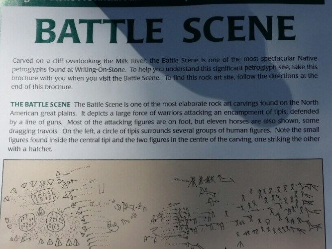 Battle Scene at Writing-OnStone