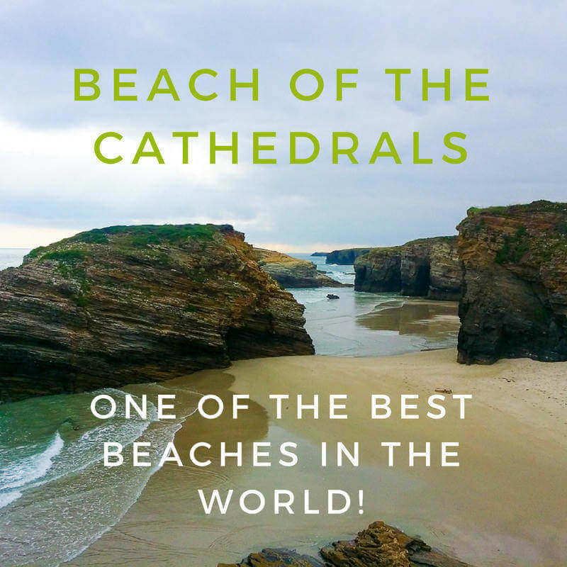 Beach of the Cathedrals is one of the best beaches in the world!