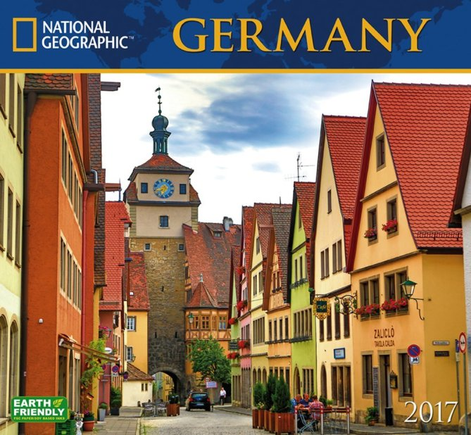 2017 National Geographic Wall Calendar – Germany
