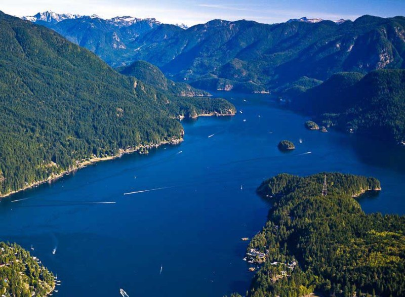 Visit Vancouver and take an Indian Arm Cruise through the calm waters.