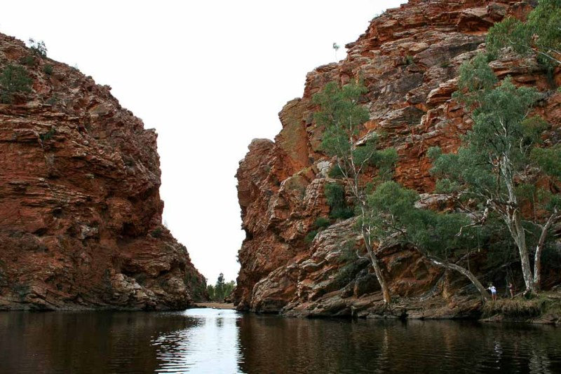 The Larapinta Trek is one of the newest long distance hikes in Australia
