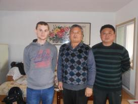 mantis master mu wei shan with me and his son