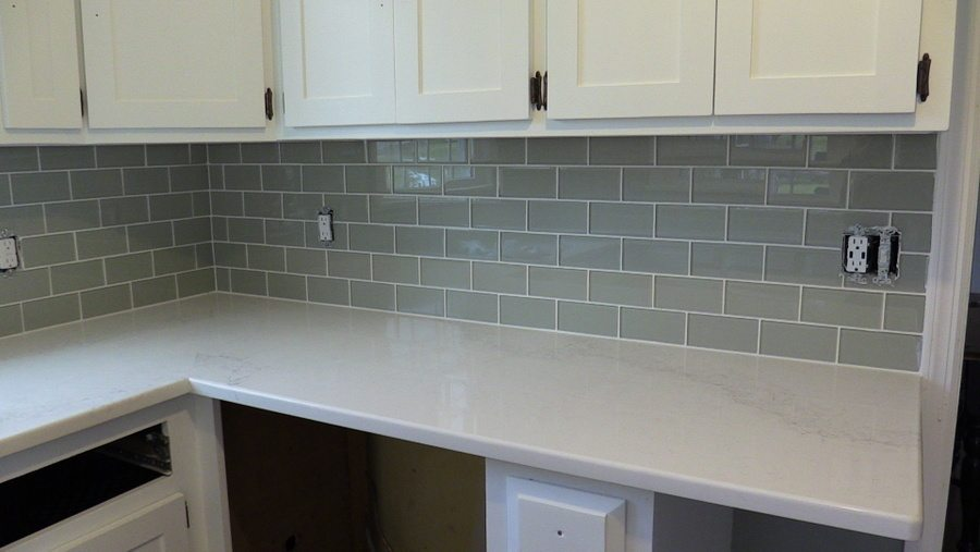 glass tile kitchen countertop for tiling & installation experts in new jersey - free ...