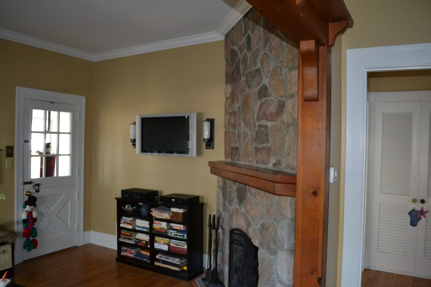 New Fireplace Mantel and Crown Molding  Monks