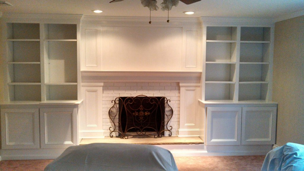 Built In Entertainment Center Morristown  Monks Home