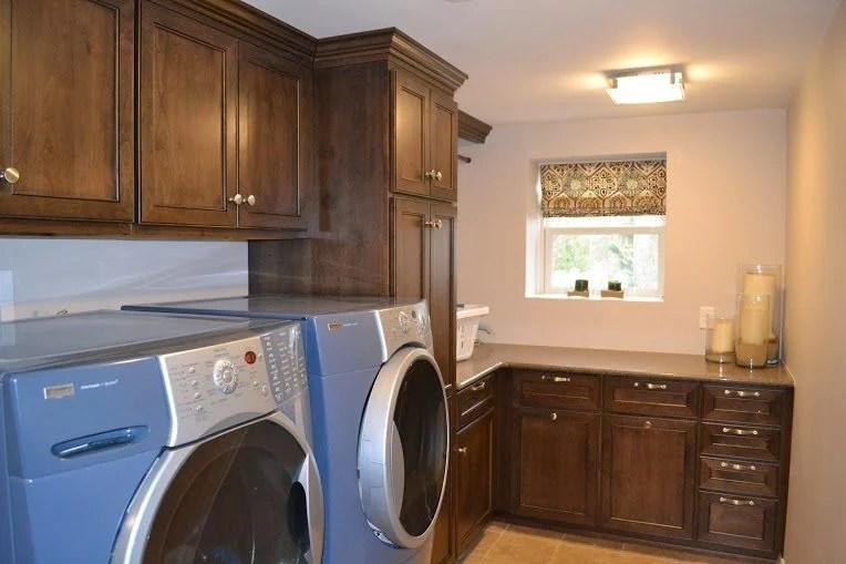 unfinished kitchen cabinet doors islands big lots laundry room remodel - monk's home improvements