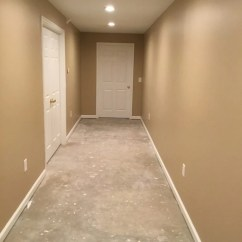 Kitchen Tile Refinishing Circle Table Basement Hallway Finishing In Chester Nj - Monk's Home ...