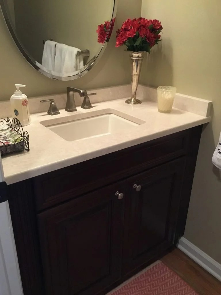 Powder Room Remodel Madison  Monks Home Improvements