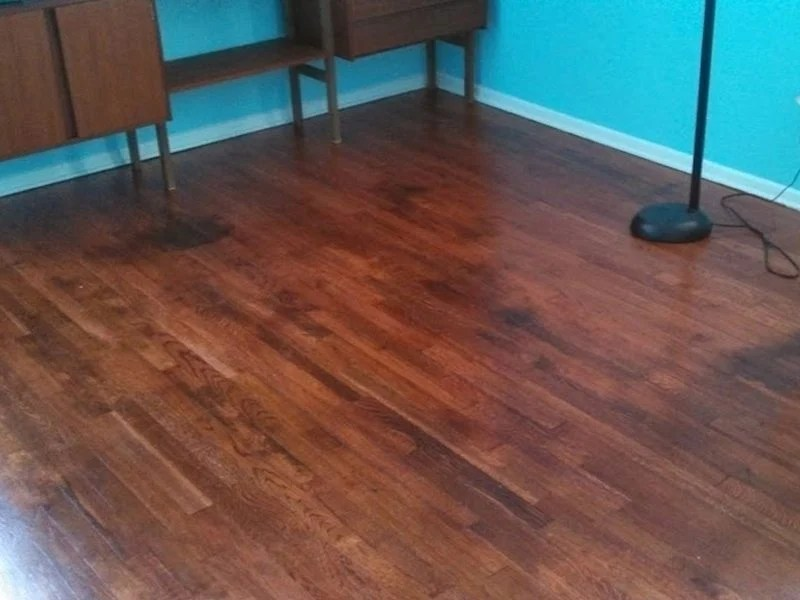 Refinishing Water Damaged Hardwood Floors East Hanover NJ  Monks Home Improvements