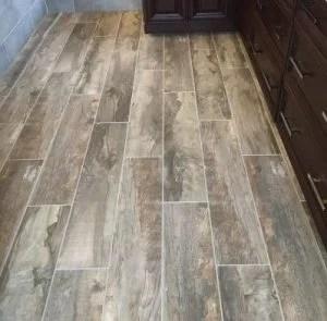 hardwood flooring and tile installation
