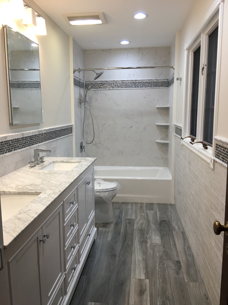 Remodeled Bathroom Ready for 2018  Monks Home Improvements