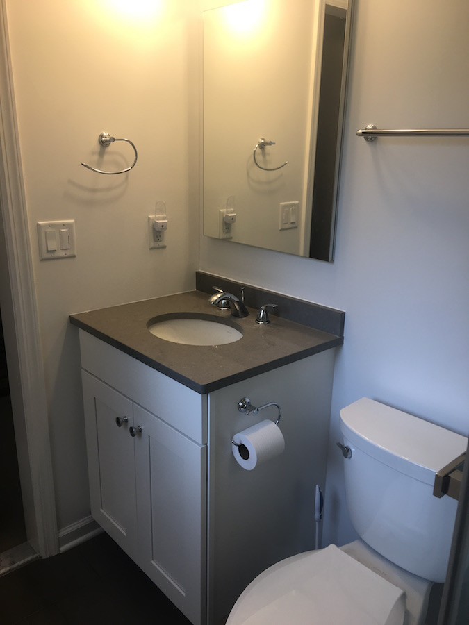 Closet to Bathroom Conversion in NJ  Monks Home Improvements