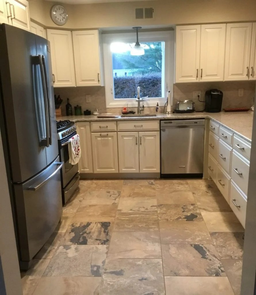 u-shaped kitchen remodel in nj - monk's home improvements