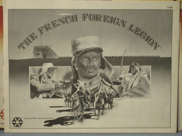 Foreign Legion Tabletop Board Games Mon Legionnaire