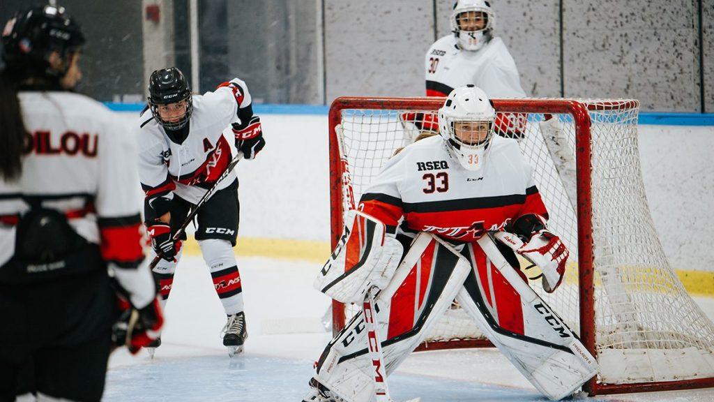 Tournoi de hockey féminin de Québec : les Titans partent du bon pied