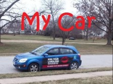 Soyez payé pour conduire, la publicité sur votre voiture.