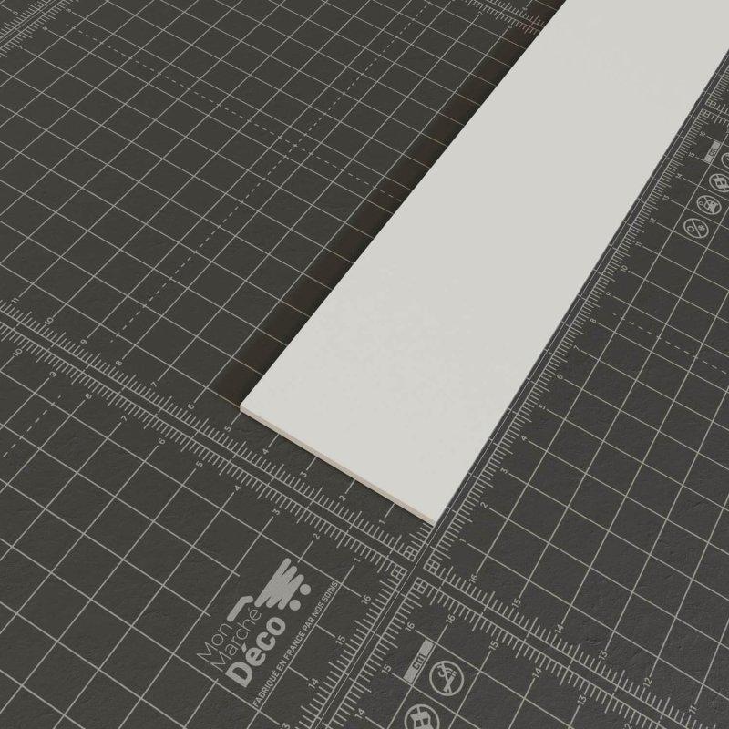 Profil plat PVC en 50mm