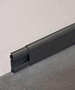 Plinthe cimaise PVC en anthracite