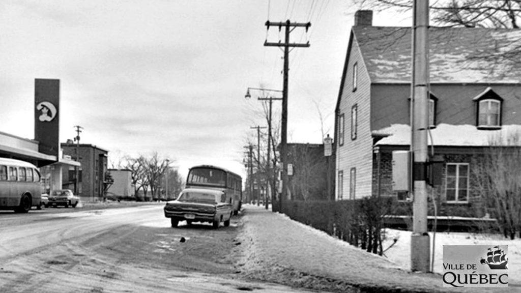 Saint-Sacrement dans les années 1960 : coin Belvédère et Saint-Cyrille