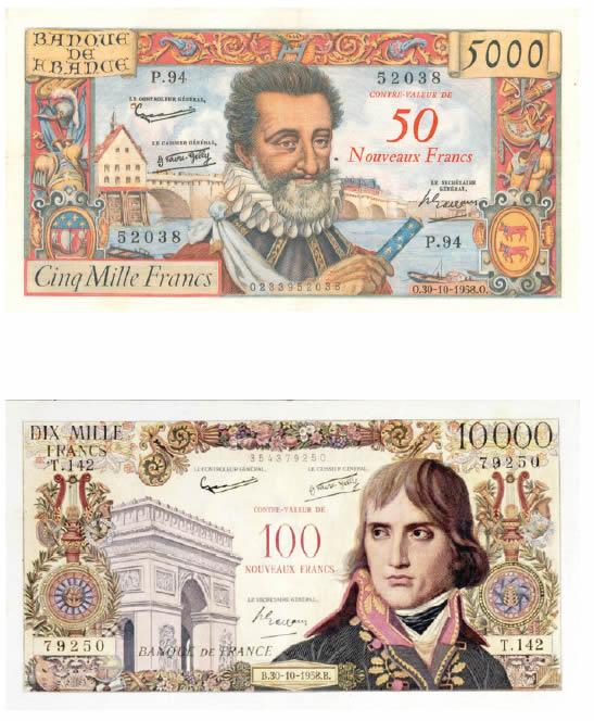 500 Anciens Francs En Euros : anciens, francs, euros, 1960,, Premières, Pièces, Nouveau, Franc, Monnaie, Magazine