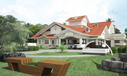 Traditional & Contemporary Architecture Style Designers Ernakulam