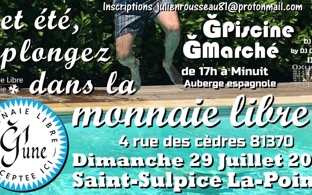 ĞPiscine / ĞMarché à St-Sulpice La-Pointe 81370