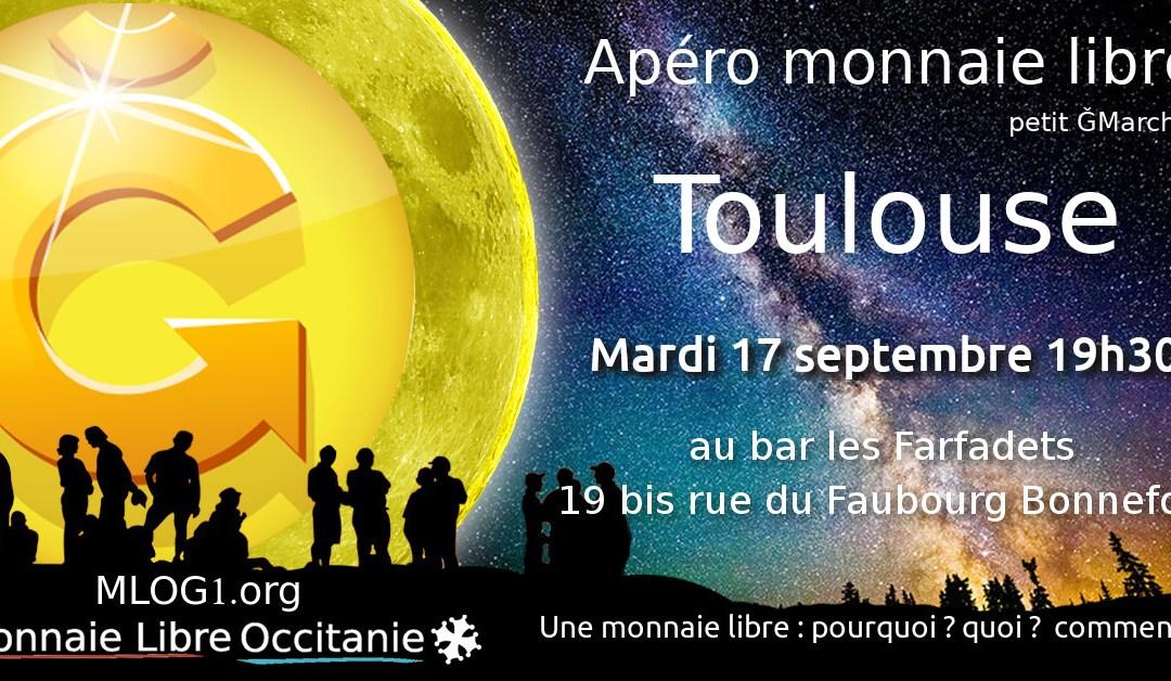 Apéro Monnaie Libre à Toulouse