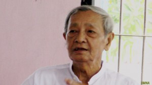 All Mon Region Democracy Party (AMDP) Chairman Nai Ngwe Thein