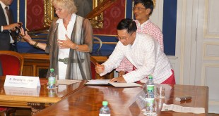 Brigadier General Layeh Gakaung signed DoC  for Protection of Children in Conflict