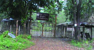 The Yeethakon base where the NMSP were forced to abandon. (photo IMNA)