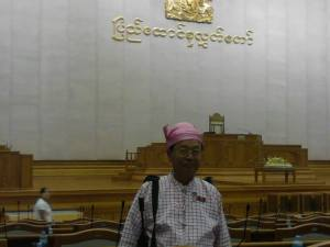 Mon State Amyotha Hluttaw (House of Nationalities) Representative Dr. Banyar Aung Moe (Photo: Myo Tint Lyin