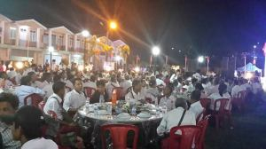 Silver Jubilee dinner party hosted by Mon Democracy Party (MDP) [photo: Mi Kon Chan]