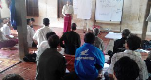 seen at the training of farmland law awareness [Photo: Arkar]